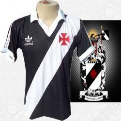 Camisa retrô  Vasco preta  - 1980 away