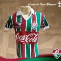 Camisa retrô Fluminense Coca cola Roxo 1991 .