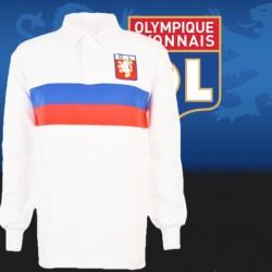 camisa retrô Olympique de lyon