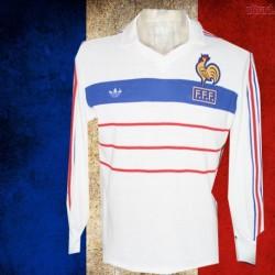 Camisa  retrô França  branca 1984 -ML