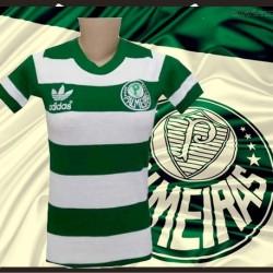 Camisa retro  baby look  cordinha Palmeiras