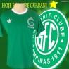 Camisa retro Guarani logo gola redonda