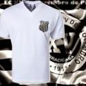 Camisa  retrô branca  XV  de Piracicaba  tradicional