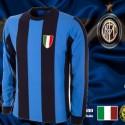 Camisa retrô inter Milan  gola  redonda ML - ITA