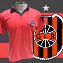 Camisa retrô Brasil de pelotas  vermelha 1985