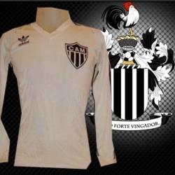 Camisa retrô Atlético   branca -1985