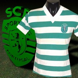 Camisa retro  Sporting  de Lisboa