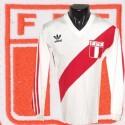 Camisa retrô Peru logo gola V  ML-1980