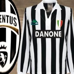 Camisa retrô  Juventus de turim 1980