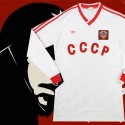 Camisa retrô CCCP logo  branca - ML