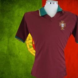 Camisa retrô Portugal  vinho 1990