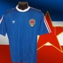 Camisa retrô   Antiga  Yugoslavia - 1982