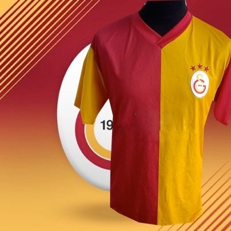 Camisa retrô 2 cores  Galatasaray   - ITA