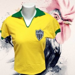 Camisa retrô baby look Atlético mineiro 1910