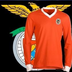 Camisa retrô Benfica  branca Replica