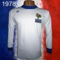 Camisa  retrô França branca  ML - 1978