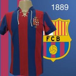 camisa retrô Barcelona ESP