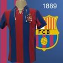 - Camisa retrô Barcelona  1889- ESP