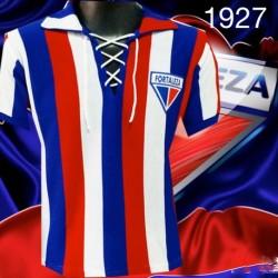 Camisa retro Fortaleza logo