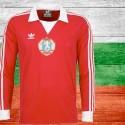 Camisa retrô Bulgaria vermelha  - 1984