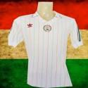 Camisa retrô  Hungria  branca logo 1980