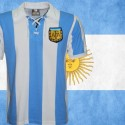 Camisa  estile retrô Argentina cordinha