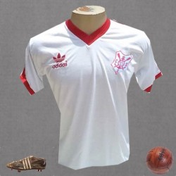 Camisa retrô clube sergipano - 1989 vermelha