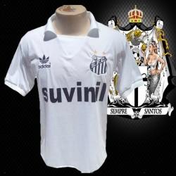 Camisa retro Santos branca Suvinil