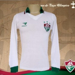 Camisa retrô Fluminense 1986 branca manga longa
