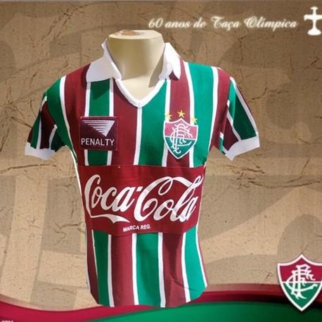 3722f541d93a1 Camisa retrô Fluminense Coca cola Roxo 1991 .