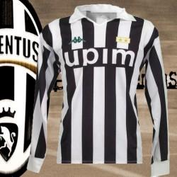 camisa retrô Juventus Upim ML