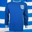 Camisa retrô da  Grecia  azul ML-