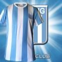 Camisa Retrô Racing tradicional gola redonda 1977 - ARG