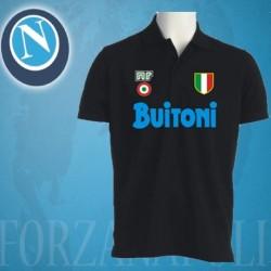 Camisa Retrô Napoli azul Buitoni    1985- ITA
