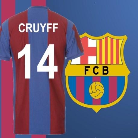 e51a84ca1de05 Camisa retrô Barcelona Yohan cruyff- ESP
