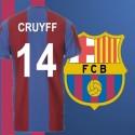 - Camisa retrô Barcelona Yohan cruyff- ESP