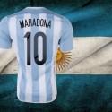 Camisa retrô Argentina  Maradona  - 1980