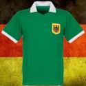 Camisa retrô  Alemanha   verde  tradicional.