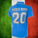 Camisa retrô Italia Paolo Rossi-  1982