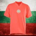 Camisa retrô da  Bulgaria  vermelha- 1970