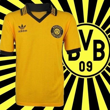 -Camisa  retrô Borussia Dortmund- ALE