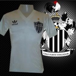 Camisa retrô Atlético mineiro  branca -1985