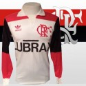 Camisa retrô Flamengo  ML Lubrax 1992  away
