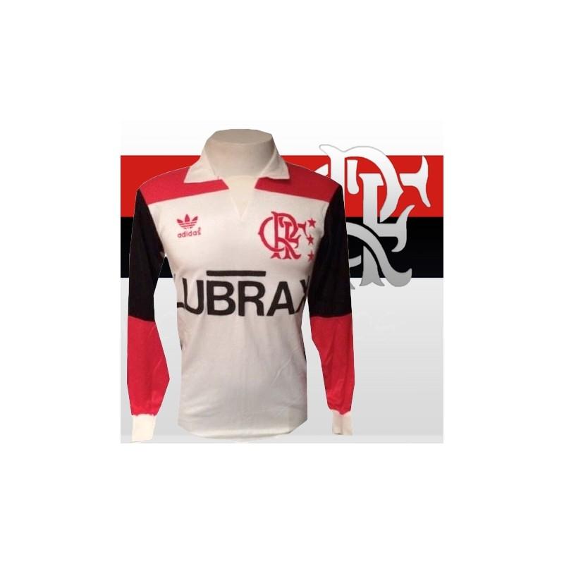 9b5da72524 Camisa retrô Flamengo 1981 manga longa ...