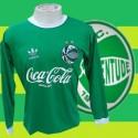 Camisa retrô Juventude ML   verde