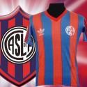 Camisa retro San Lorenzo de Almagro logo - ARG