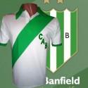 Camisa retrô Banfield branca - ARG