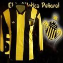 Camisa retrô Penarol  logo   ML - URU