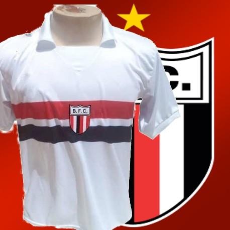 37749f2f7b Camisa retrô listrada Botafogo Ribeirão preto - 1992