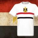 Camisa retrô do Egíto  branca- 1970